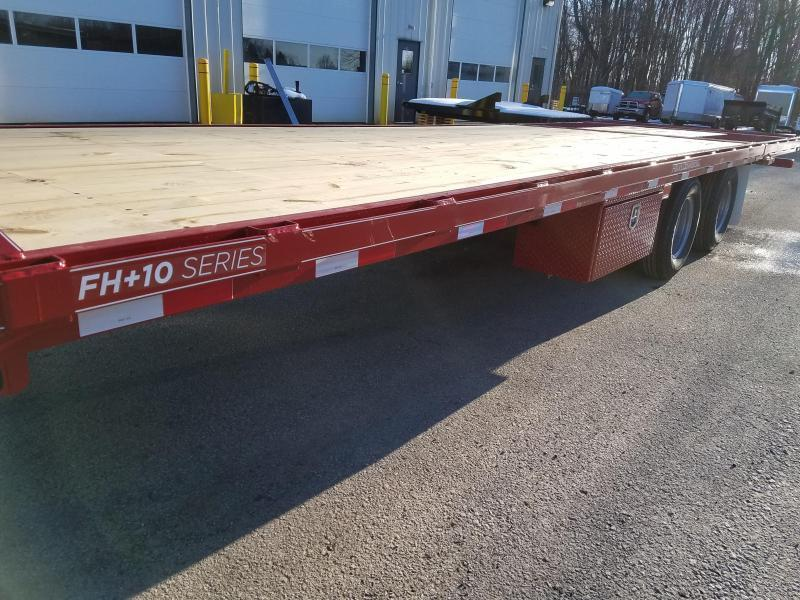 2019 Moritz International FGSH-10+20 Flatbed Trailer