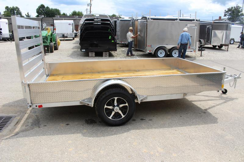 2017 H and H Trailer 6.8 x 12' Utility Trailer
