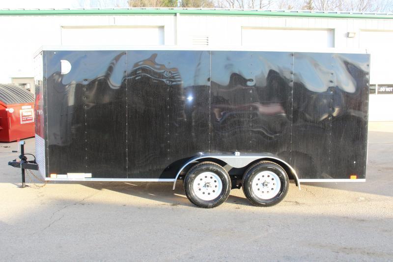 2018 United Trailers XLV 7 x 16 Enclosed Cargo Trailer