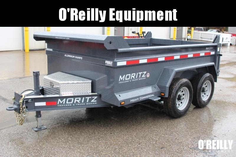 "2019 Moritz International 6'2""x10 HD Dump Trailer"