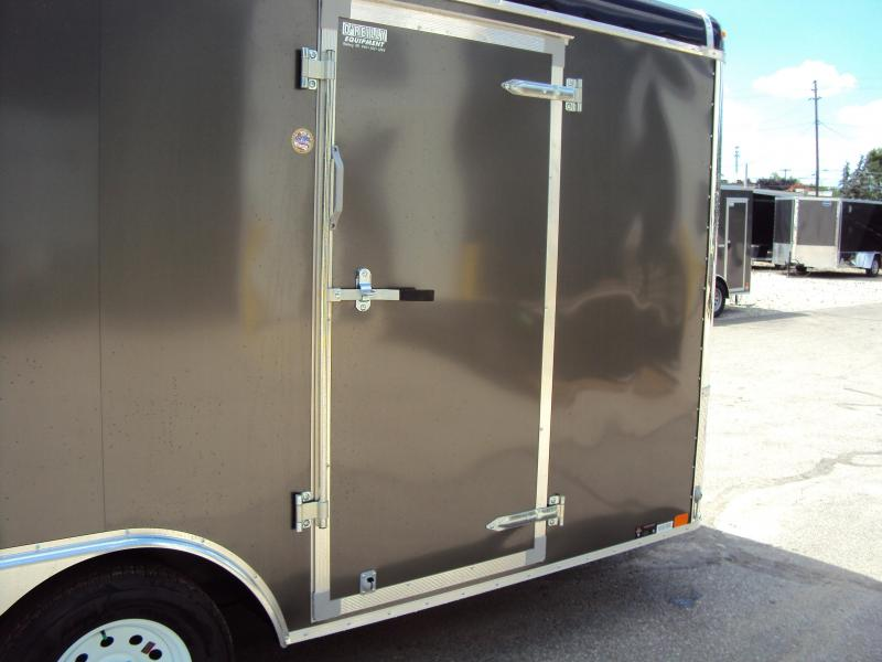 2019 United Trailers ULT 8.5X16 Enclosed Cargo Trailer