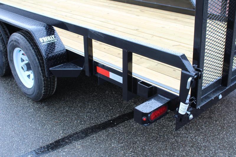 2018 Sure-Trac 7 x 18 Utility Trailer