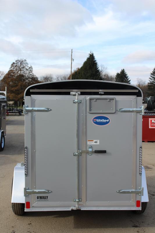 2019 United Trailers ULH 5 x 8 Enclosed Cargo Trailer