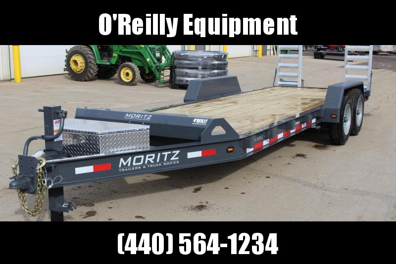 2019 Moritz International 7 x 22 Equipment Trailer in Ashburn, VA