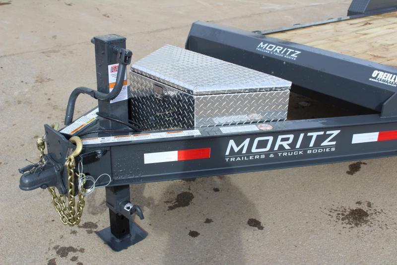 2019 Moritz International 7 x 22 Equipment Trailer