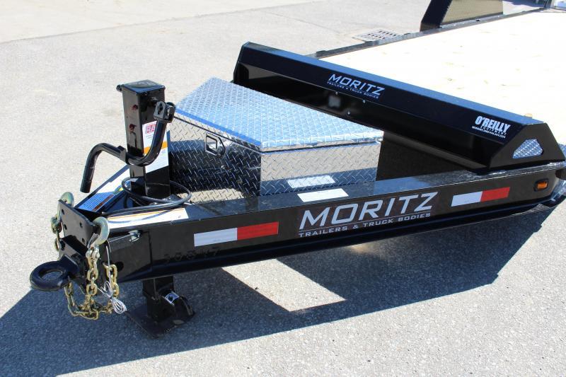 2018 Moritz International 7 x 22 Equipment Trailer