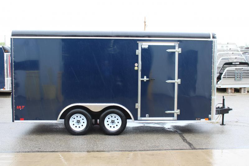 2018 United Trailers ULT 8.5X16 Enclosed Cargo Trailer