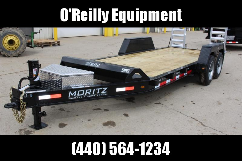 2018 Moritz International 7 x 18 Equipment Trailer in Ashburn, VA