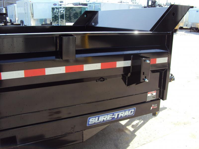 2018 Sure-Trac 7 x 14 Dump Trailer