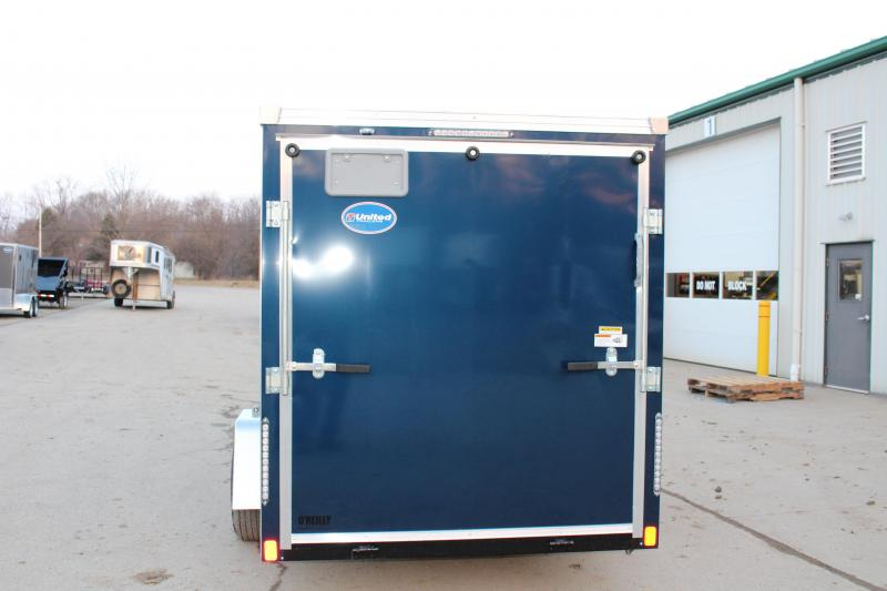 2019 United Trailers XLMTV 6x12 Motorcycle Trailer