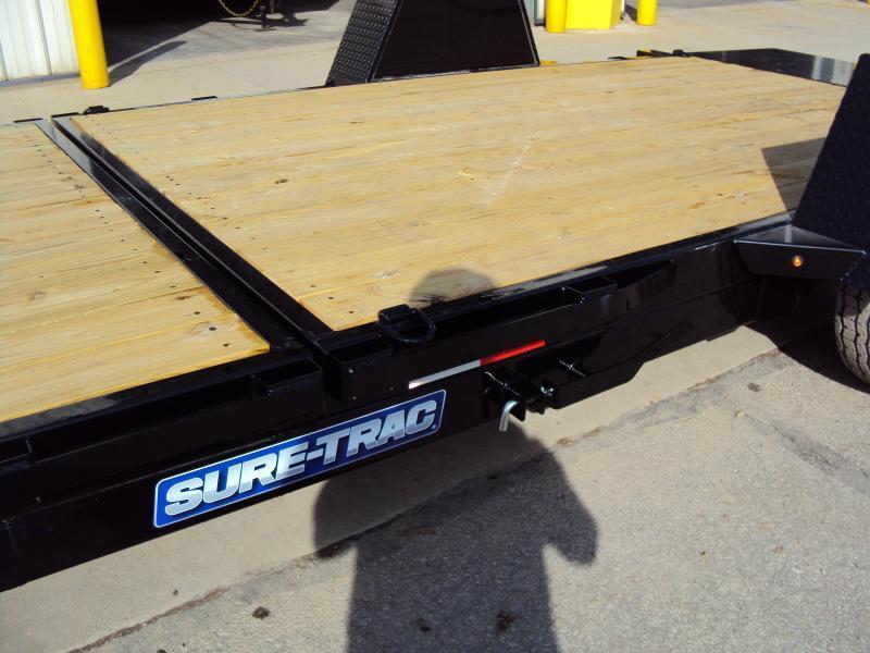 2019 Sure-Trac 7 x 12+4' TILT Equipment Trailer