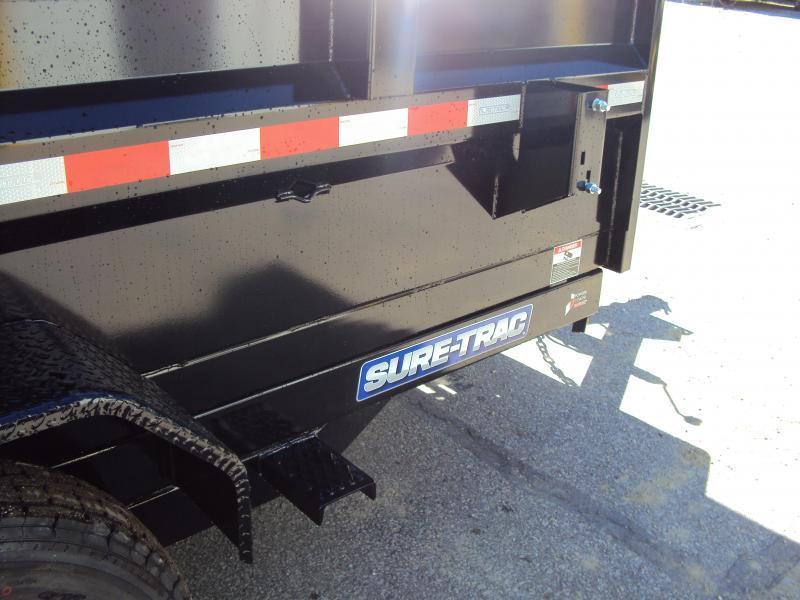 2018 Sure-Trac 7 x 12 Dump Trailer