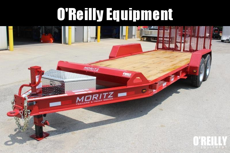 2019 Moritz International 7 x 22 Equipment Trailer in Ashburn, VA