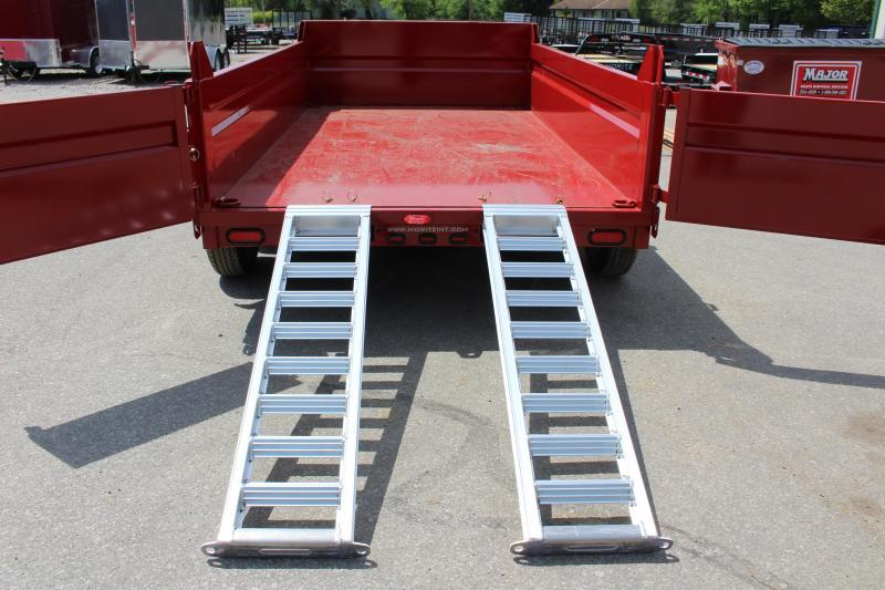 "2018 Moritz International 6'10""x12 HD Dump Trailer"