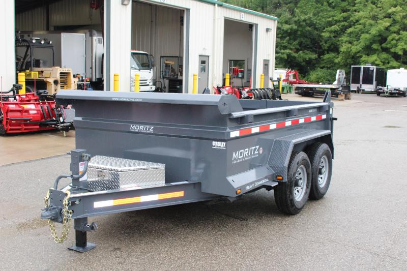"2019 Moritz International 6'10""x10 HD Dump Trailer in Ashburn, VA"