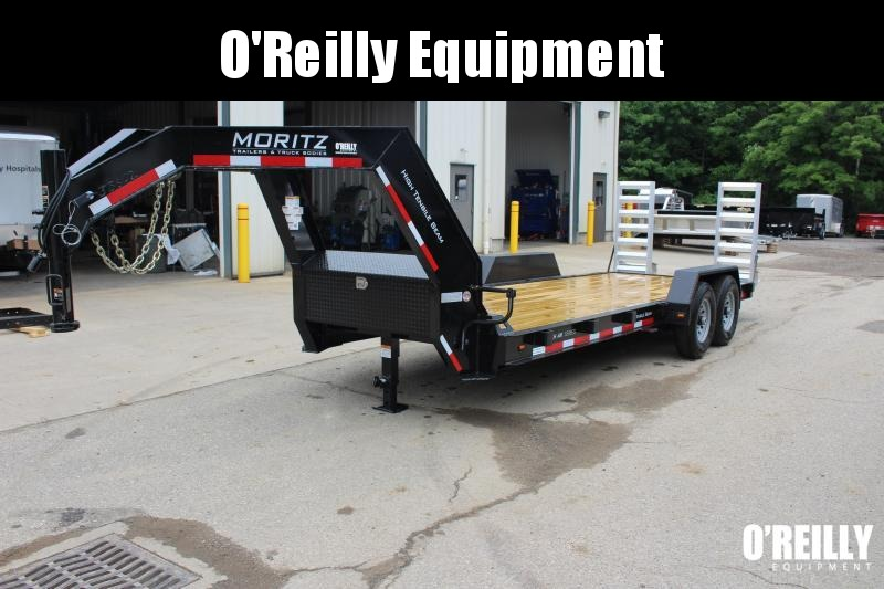 2018 Moritz ELGH-AR 7' x 20' Equipment Trailer in Ashburn, VA