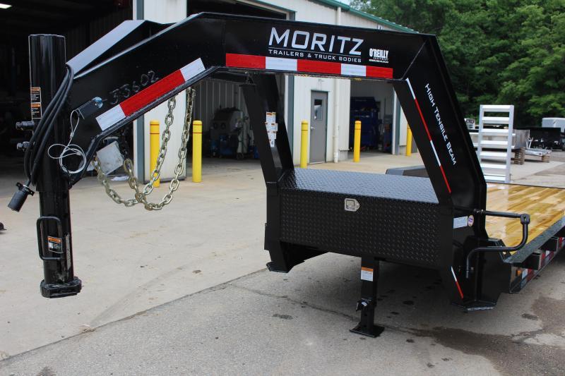 2018 Moritz ELGH-AR 7' x 20' Equipment Trailer