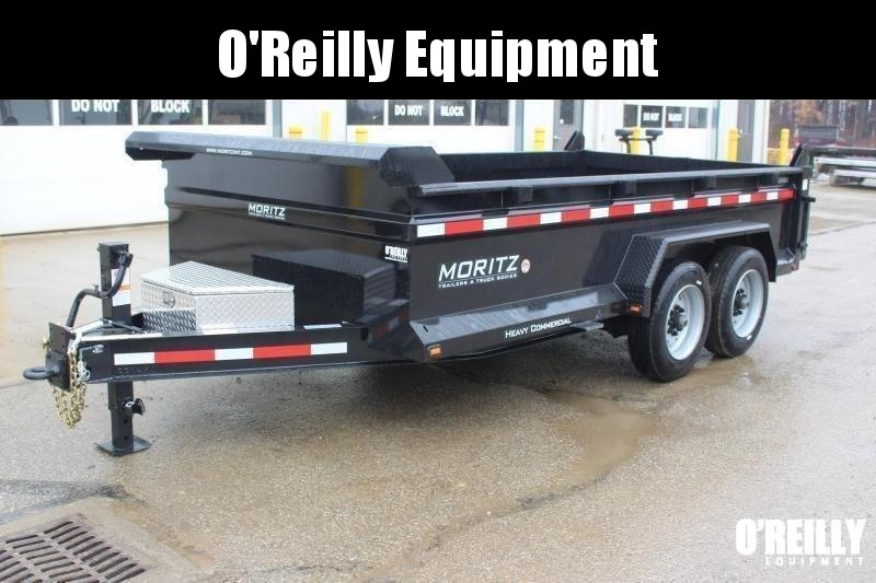 "2018 Moritz International 6'10""x14 HD Dump Trailer in Ashburn, VA"