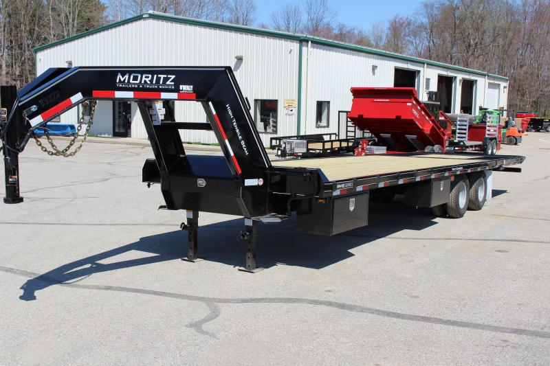 2018 Moritz International FGSH-10+20 Flatbed Trailer in Ashburn, VA