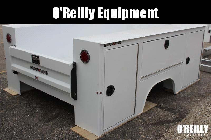 2019 Aluminum Dura Mag Truck Bodies SB-R-56F17-STD-SRW Truck Bed