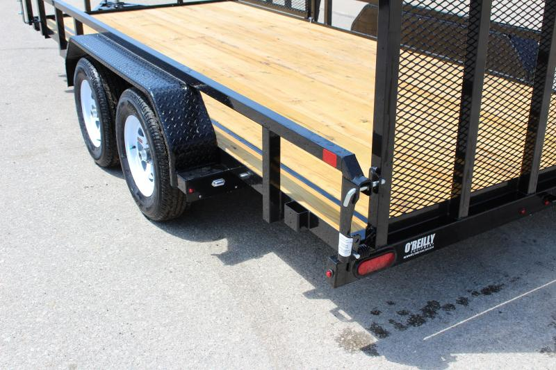 2018 Sure-Trac 7 x 16 ATV Utility Trailer