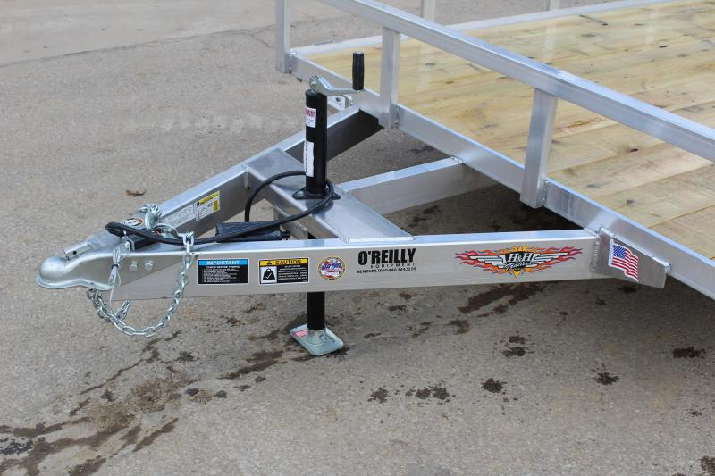 2019 H and H Trailer 6.8 x 18' Utility Trailer