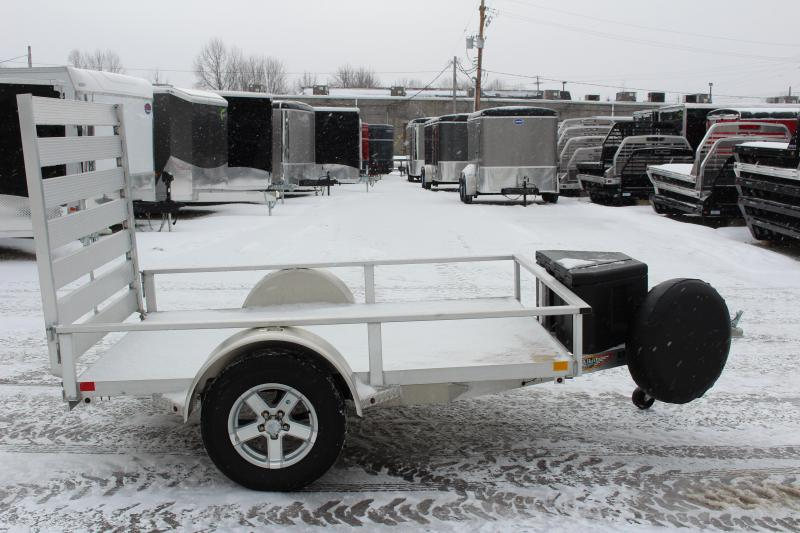 2018 H and H Trailer 5.5 x 8' Utility Trailer USED