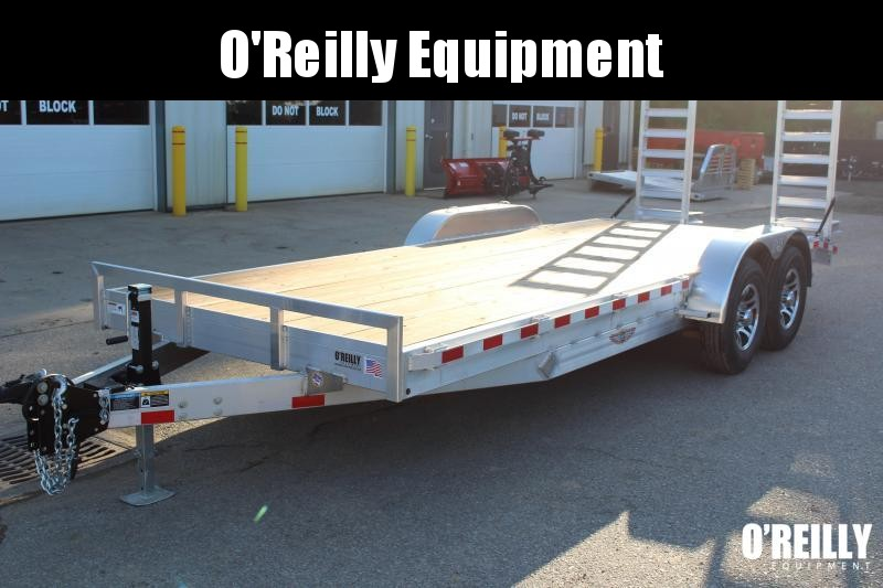 2018 H and H Trailer 7' x 20' Equipment Trailer