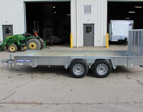 2019 Sure-Trac 7x16 Landscape Trailer