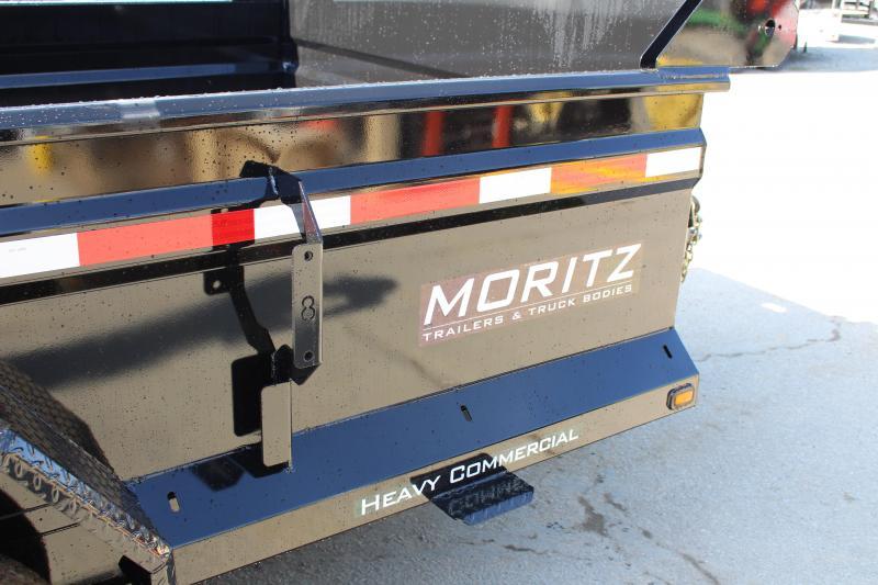 """2018 Moritz International 6'10""""x12 HD Dump Trailer"""