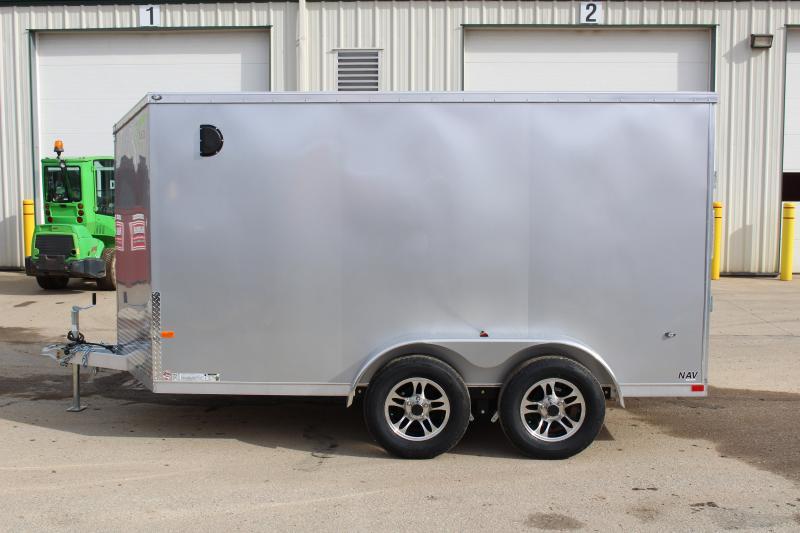 2020 NEO Trailers NAV 7 x 12 Enclosed Cargo Trailer