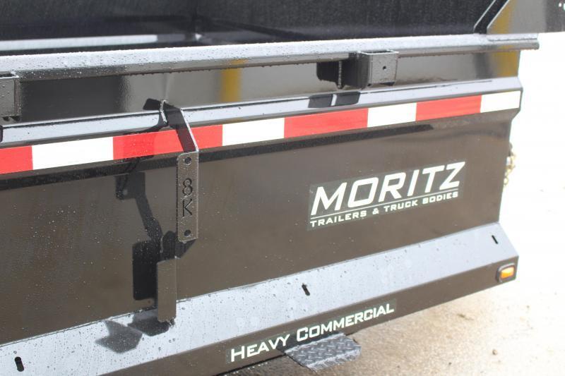 """2018 Moritz International 6'10""""x14 HD Dump Trailer"""
