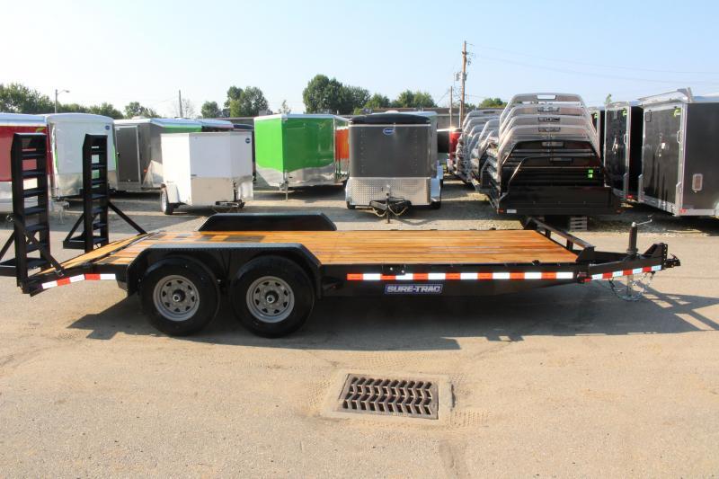 2020 Sure-Trac 7 x 18 Equipment Trailer