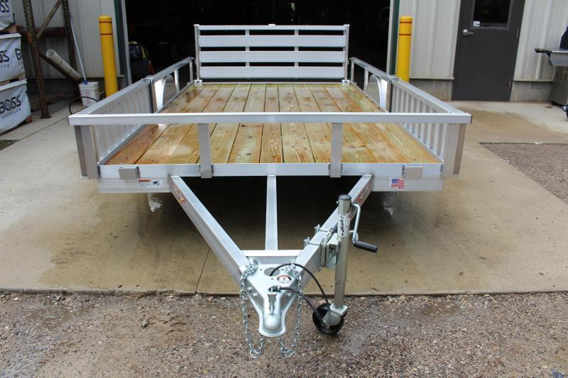 2018 H and H Trailer 6.8 x 12' Utility Trailer