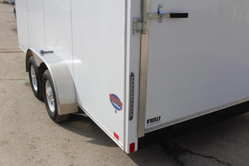 2019 United Trailers UXT 7x16 Enclosed Trailer