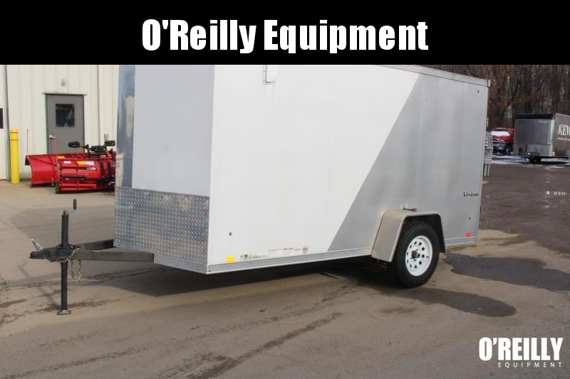 2013 Look 6' x 12' Enclosed Cargo Trailer Used