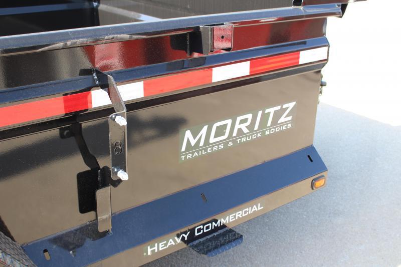 """2019 Moritz International 6'10""""x12 HD Dump Trailer"""