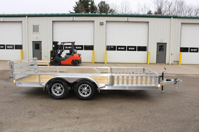 2019 H and H Trailer 6.8 x 16' Utility ATV Trailer
