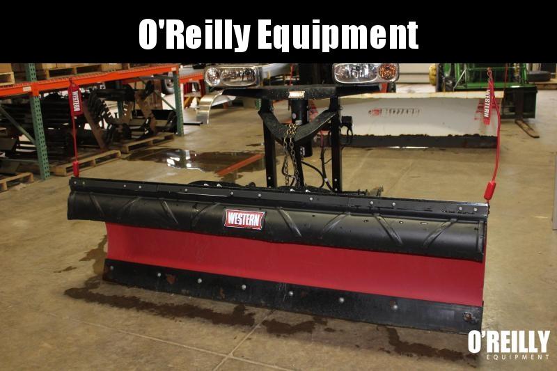 2014 Western 7.5 Poly Pro Plow Snow Plow