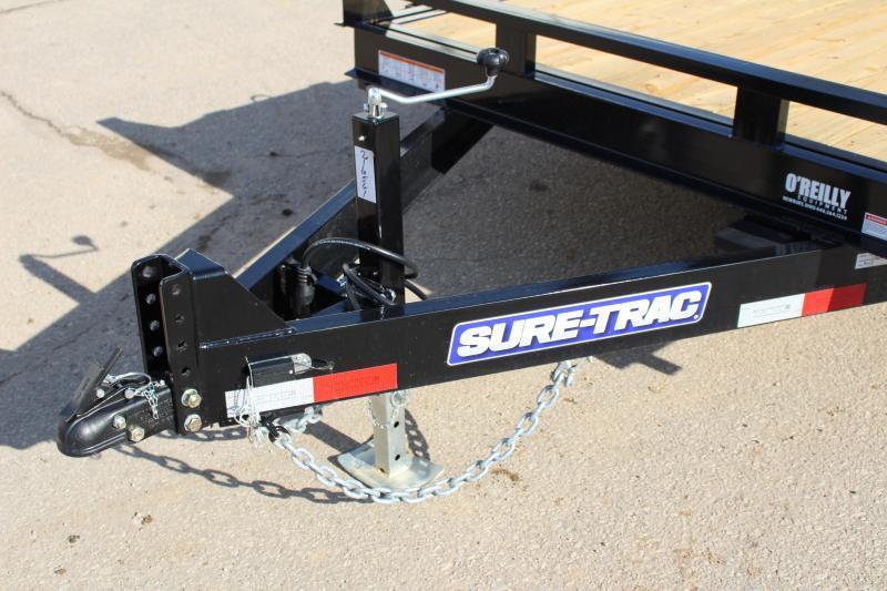 2019 Sure-Trac 7 x 18 Equipment Trailer