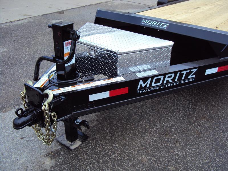 2019 Moritz International 7 x 20 Equipment Trailer