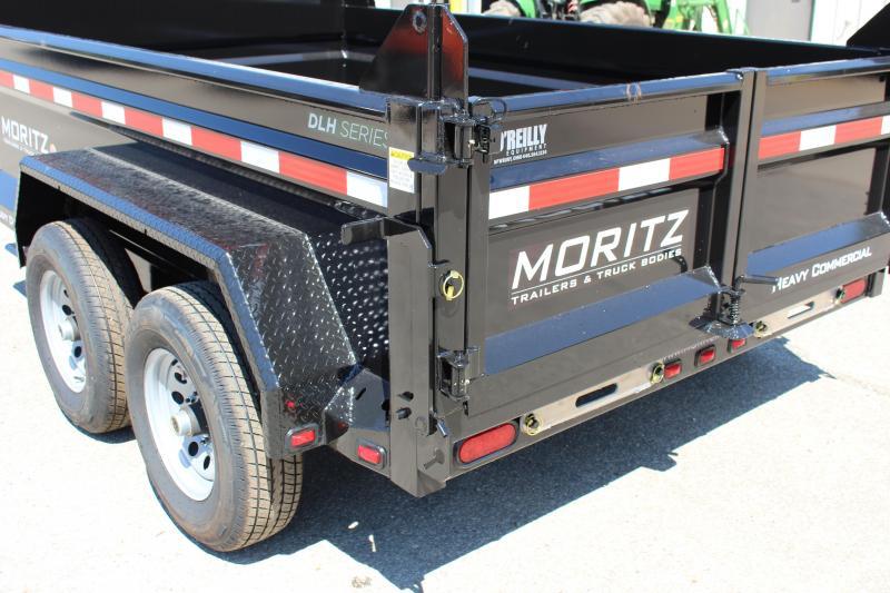 """2019 Moritz International 6'10""""x10 HD Dump Trailer"""