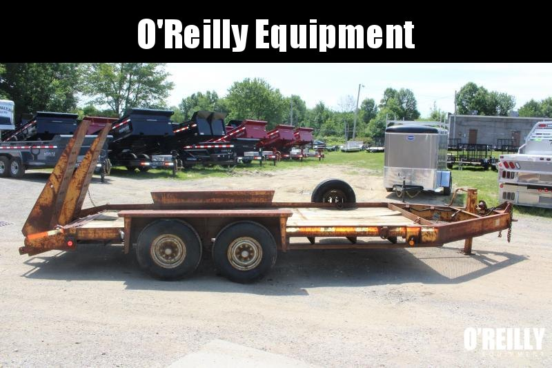 1999 Belshe T-14 Equipment Trailer USED