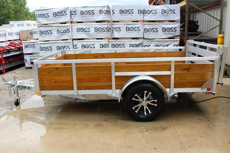 2019 H and H Trailer 6.5 x 10 Utility Trailer