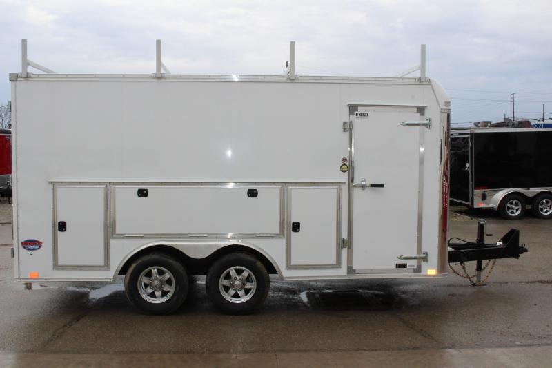 2018 United Trailers UXT 8.5x16 TOOL CRIB Enclosed Cargo Trailer