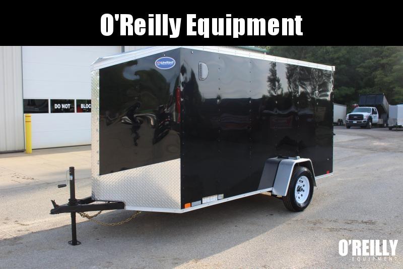 2020 United Trailers XLV 6 x 12 Enclosed Cargo Trailer