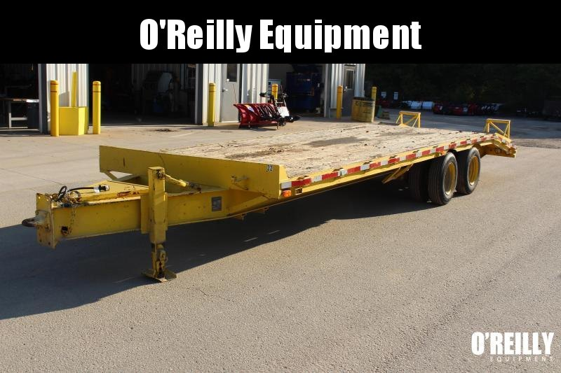 1992 Better Built 8.5 x 25 Flatbed Trailer USED