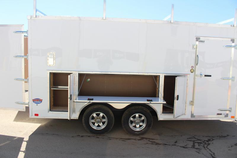 2019 United Trailers UXT 8.5x16 TOOL CRIB Enclosed Cargo Trailer