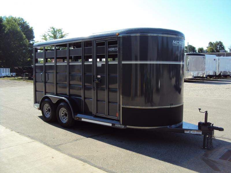 2018 Moritz International CBR6-16 Livestock Trailer