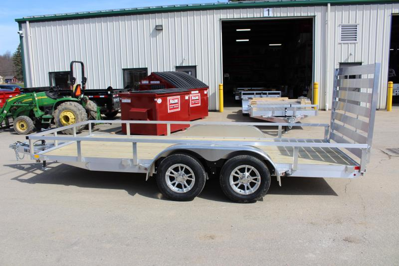 2018 H and H Trailer 6.8 x 16' Utility Trailer